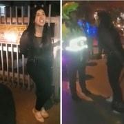 Mujer que protagonizó vergonzosa agresión contra policías