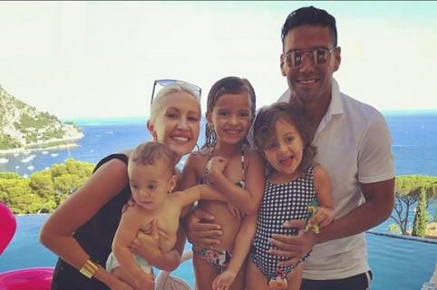 Falcao celebra el cumpleaños de su hija Dominique