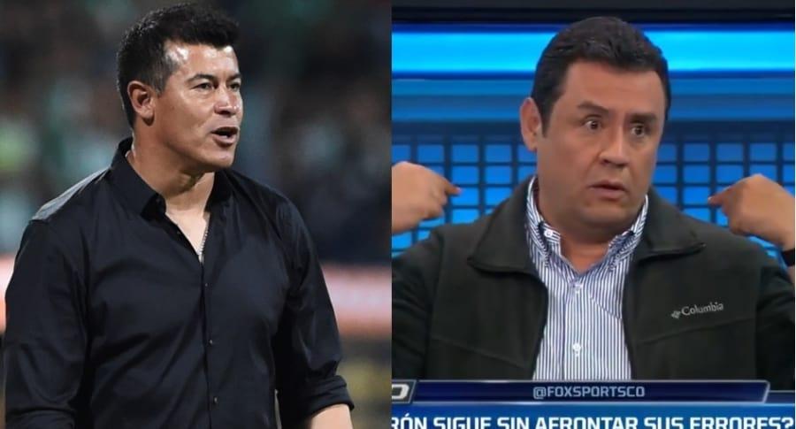 Jorge Almirón y 'Pacho' Vélez