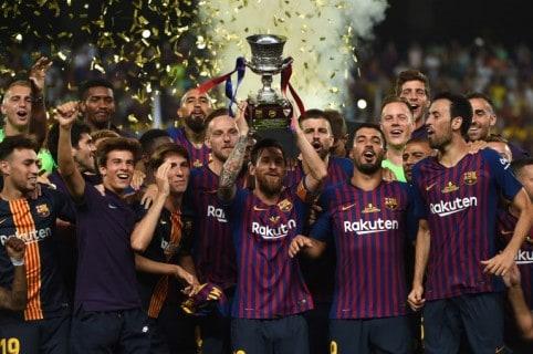 Barcelona gana la Supercopa de España