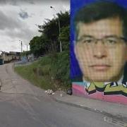 Callejón del barrio La Paz al que entró Álvaro Torres (recuadro) en su carro y del que salió muerto