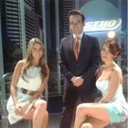 Daniela Álvarez, Sergio Barbosa, Jessica Cediel y Laura Tobón, presentadores.
