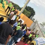 Incidentes en el estadio Francisco Rivera Escobar