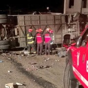 Accidente en Ecuador