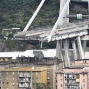 Puente derrumbado en Italia