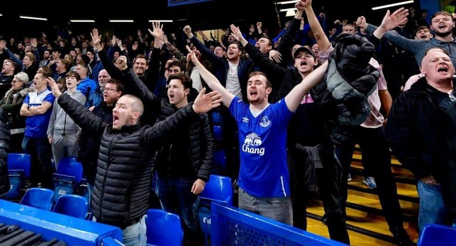 Hinchas del Everton