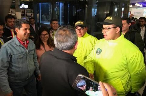 Rencuentro de Luis Eduardo Muñoz Cortés y su familia