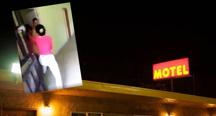 Amante y motel