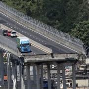 Puente caído en Génova, Italia
