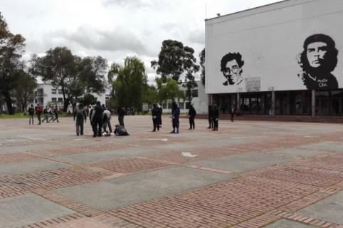 Manifestaciones en la Universidad Nacional