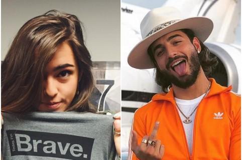 Lucy Vives y Maluma