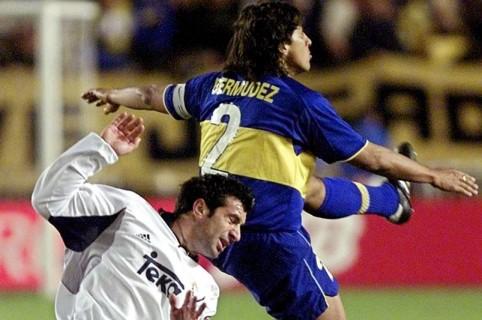Boca Juniors - Real Madrid, año 2000