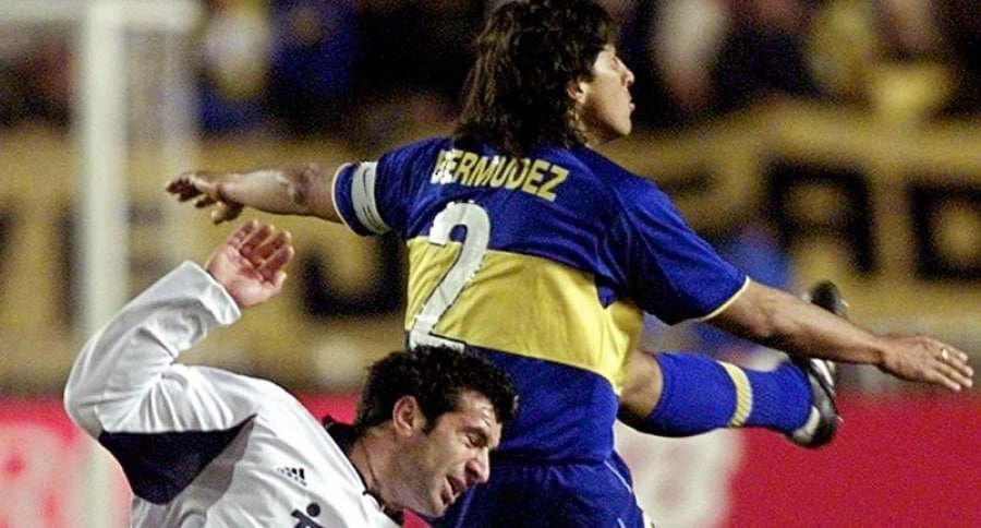 Boca Juniors - Real Madrid, año 2000
