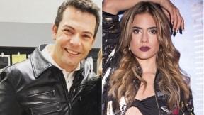 Iván Lalinde, presentador, y Carolina Ramírez, actriz.