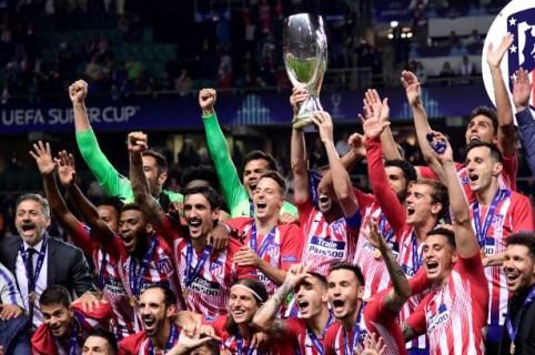 Atlético, campeón de Supercopa de Europa