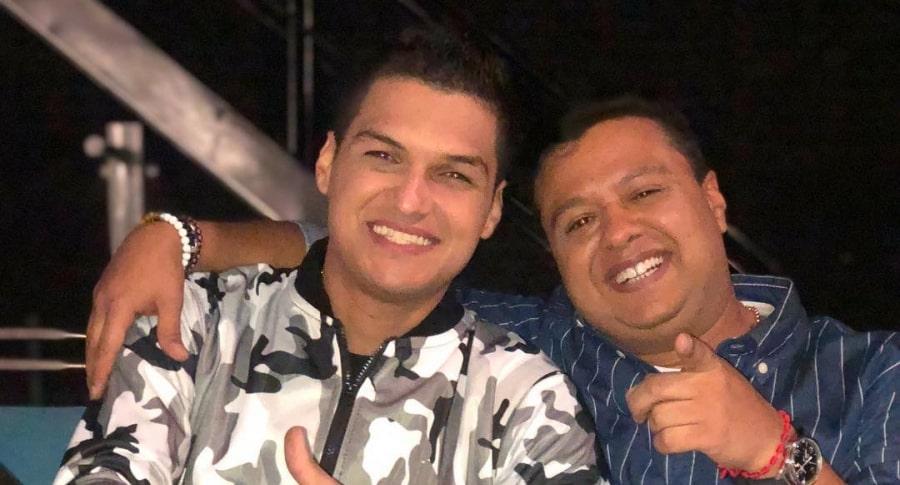 Elder Dayán y Martín Santos