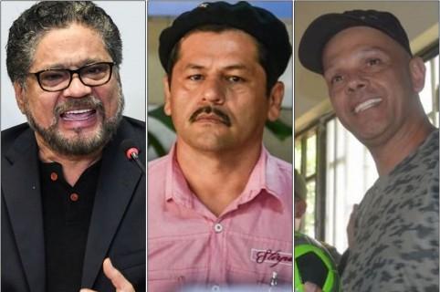 Alias 'Iván Márquez', alias 'Romaña' y alias 'el Paisa'