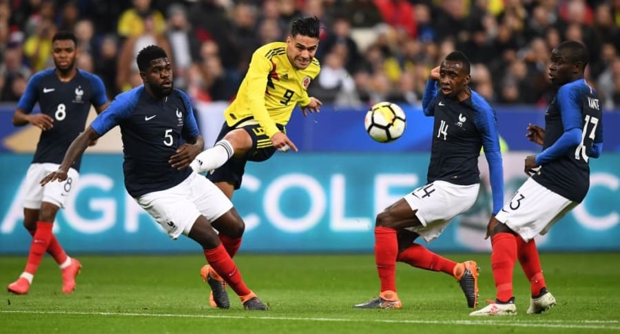 Colombia vs. Francia