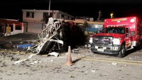 Accidente bus en Ecuador
