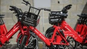 Bicicletas eléctricas que rodarán por Bogotá