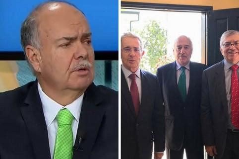 Iván Mejía y expresidentes