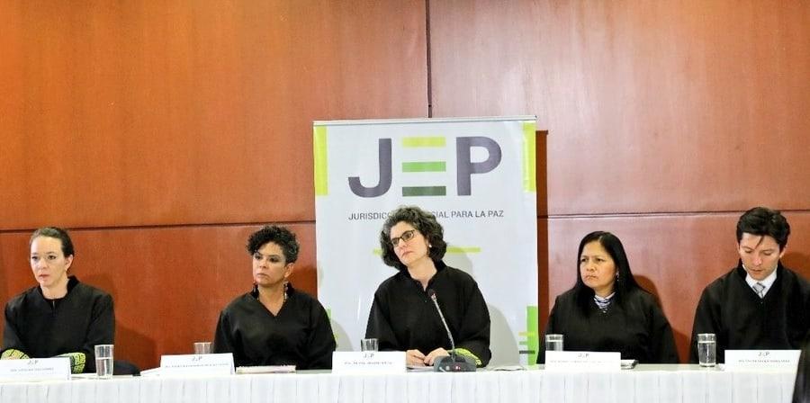 Sala de Reconocimiento de la JEP