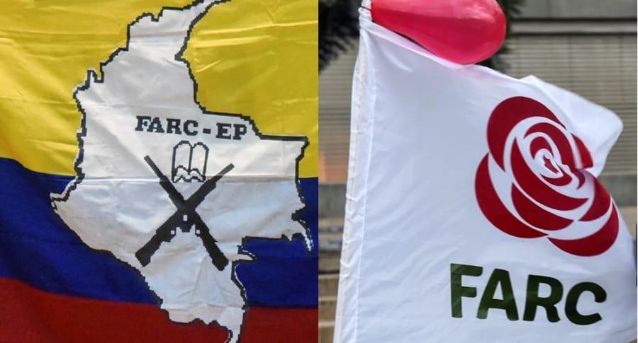 Banderas y símbolos de Farc