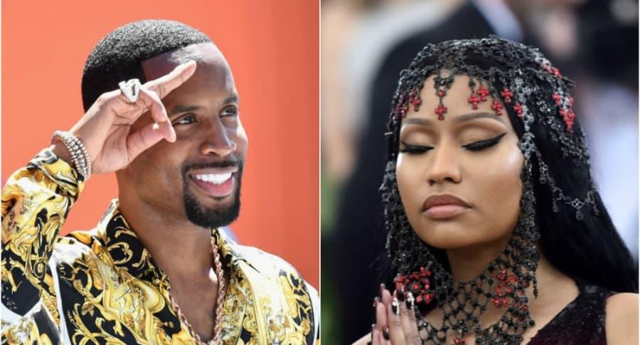 Nicki Minaj y Safarre Samuels