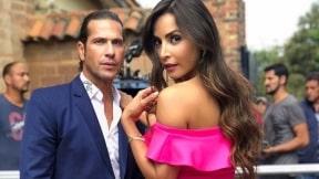 Carmen Villalobos y Gregorio Pernia