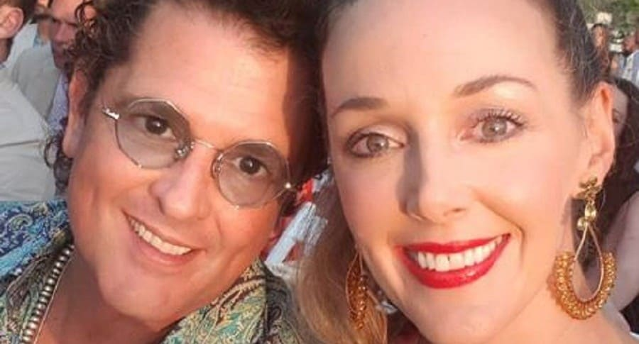 Carlos Vives y Calidia Elena Vásquez