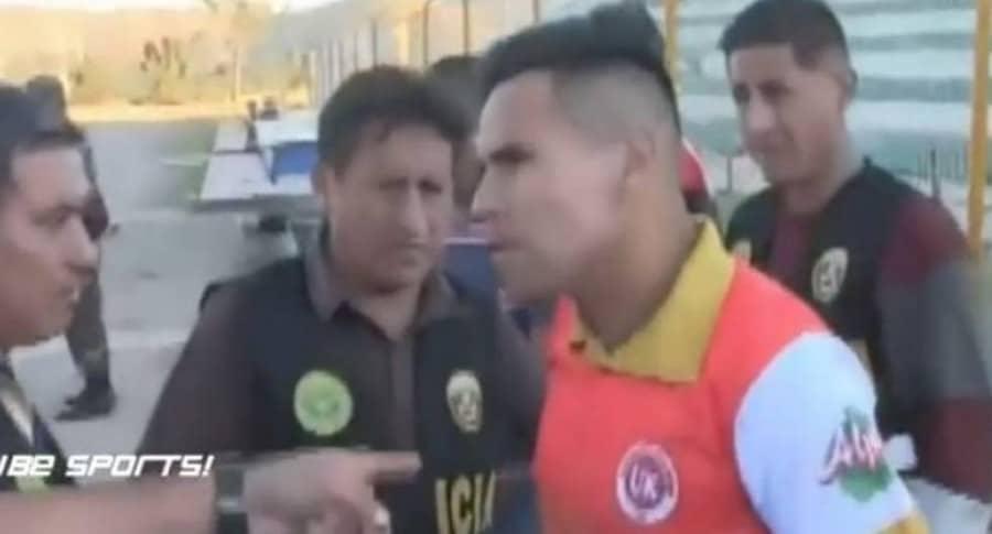 Futbolista detenido