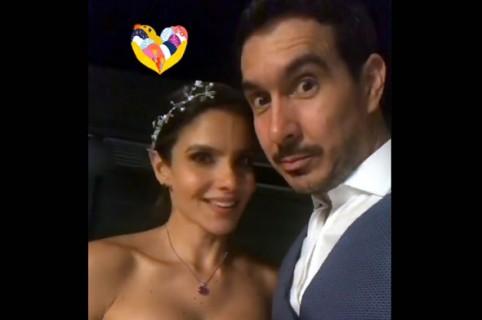 Adriana se casó