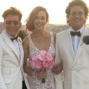 Franklin Ramos, Carlos Vives y Claudia Elena