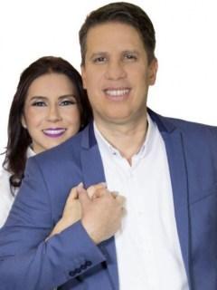 Pastor Miguel Arrázola y su esposa, la pastora María Paula García.
