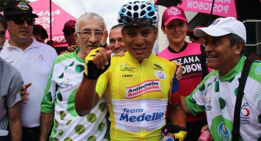Jonathan Caicedo, campeón de la Vuelta a Colombia