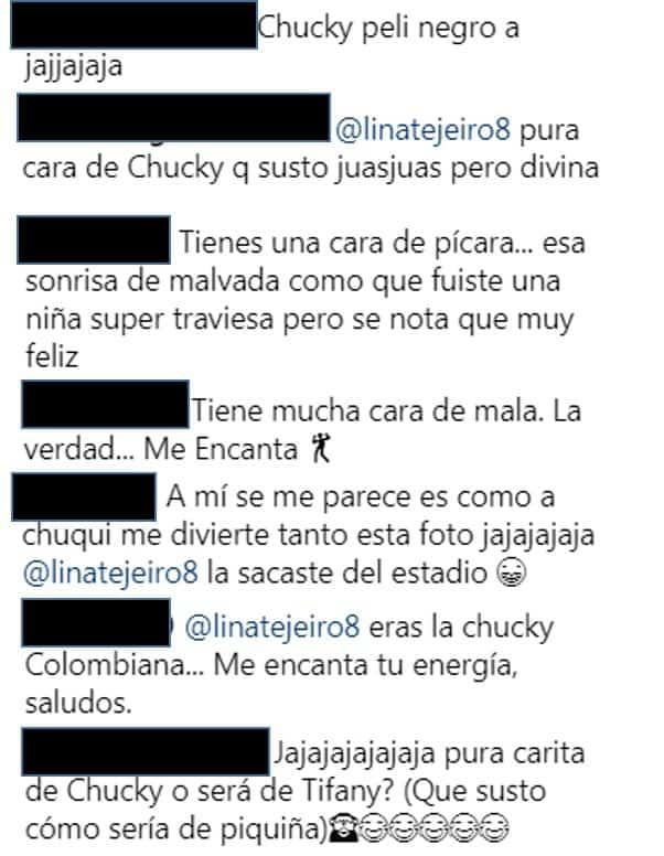Comentarios Lina Tejeiro