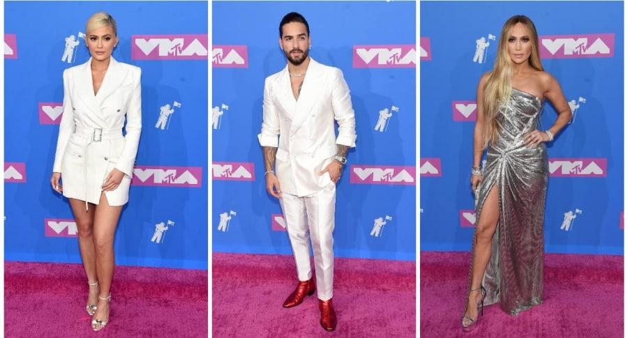 Kylie Jenner, Maluma y Jennifer Lopez