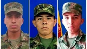 Orlando Yair Vega Díaz, Juan Pablo Rojas Ovando y Eduardo Caro Bañol