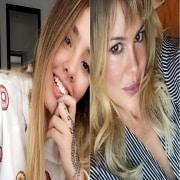 Mariana Correa y su mamá Natalia París, modelo.