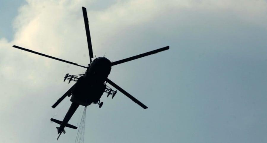 Helicóptero venezolano