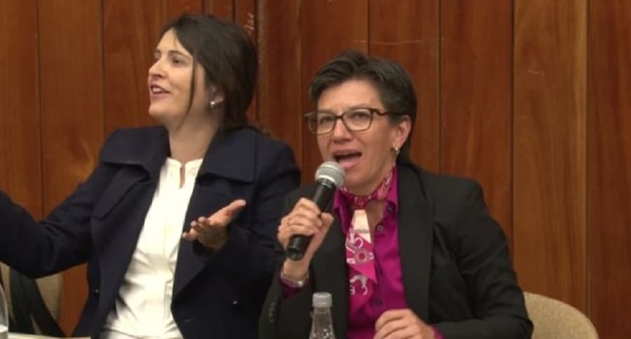 Paloma Valencia y Claudia López