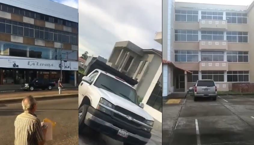 Videos de temblor en Venezuela