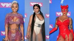 Blac Chyna, Nicki Minaj y Amber Rose
