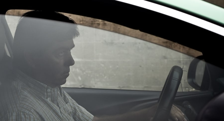 Conductor en vehículo