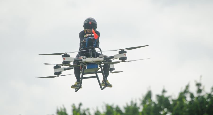 Zhao Dali - Moto Voladora