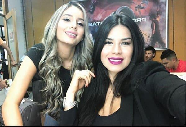 Paola Giraldo y Katalina Gómez