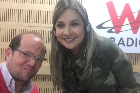 Vicky Dávila en W Radio