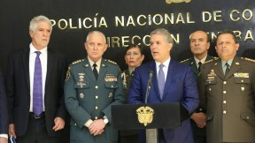 Consejo de seguridad en Bogotá