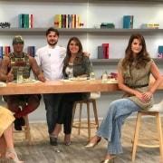 Catalina Gómez, Osmin, chef Alejandro Cuellar, Mónica Rodríguez y Carolina Cruz.