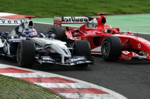 Montoya y Schumacher